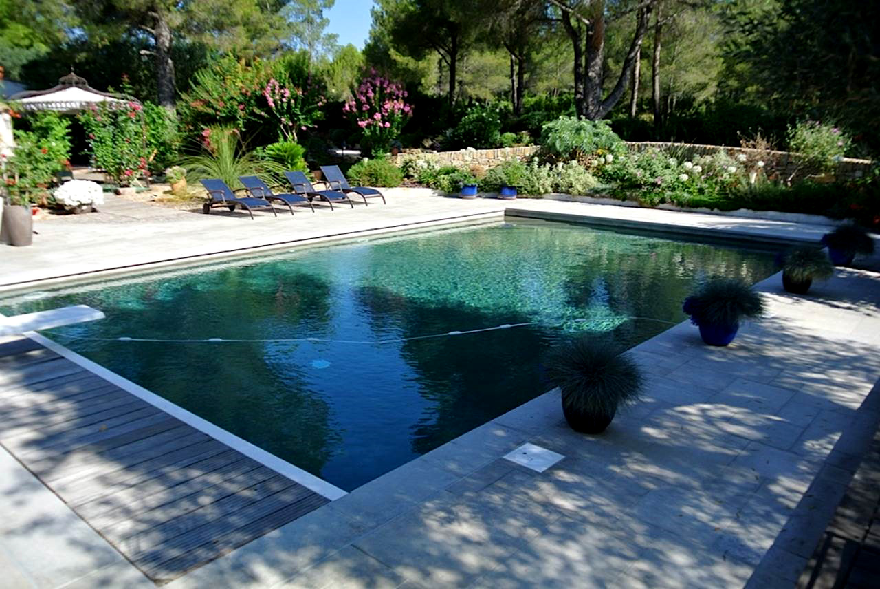 Piscine exterieur amenagement accueil design et mobilier - Amenagement terrasse piscine ...